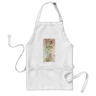 Winter by Mucha Adult Apron