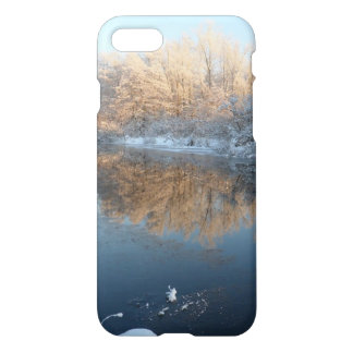 Winter by the River iPhone 7 Case