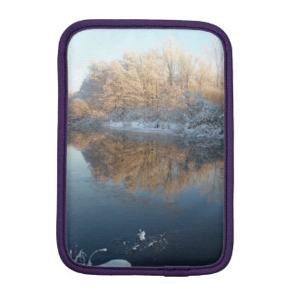 Winter by the River Sleeve For iPad Mini
