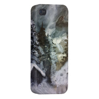 Winter Cabinet Cases For iPhone 4