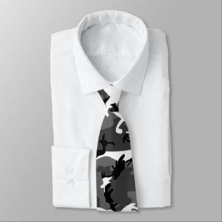 Winter Camo Neck Tie