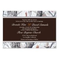 Winter Camo Wedding Invitation (<em>$1.86</em>)