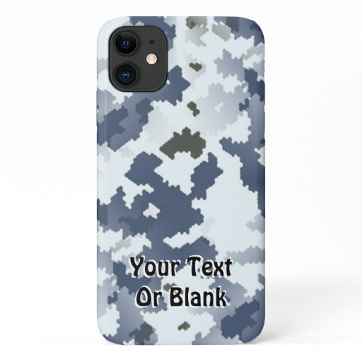Winter Camouflage iPhone 11 Case