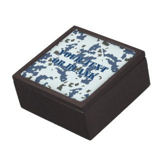 Winter Camouflage Gift Box