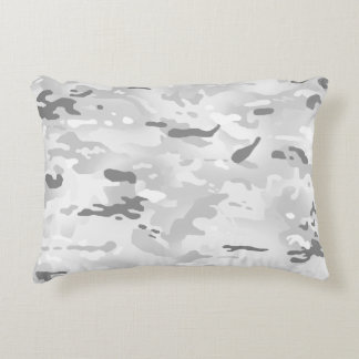 Winter Camouflage I Accent Pillow