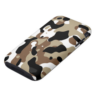 Winter Camouflage iPhone 3 Tough Cover