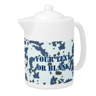 Winter Camouflage Teapot