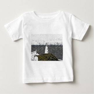 Winter Cape Spear Lighthouse Baby T-Shirt