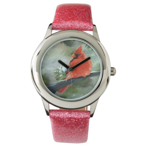 Winter Cardinal Wrist Watch