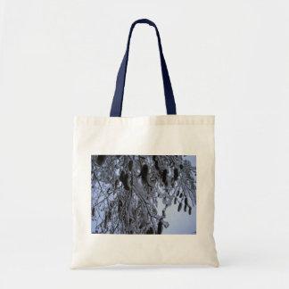 Winter Catapillars Tote Bag