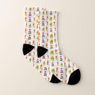 Winter Cats Socks