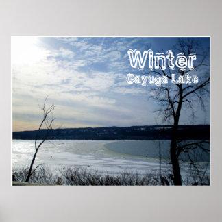 WINTER,CAYUGA LAKE poster