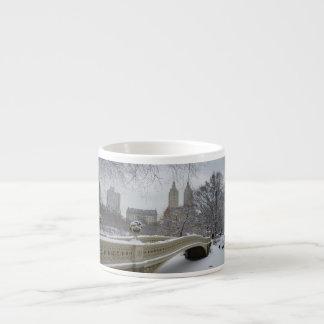 Winter - Central Park - New York City 6 Oz Ceramic Espresso Cup