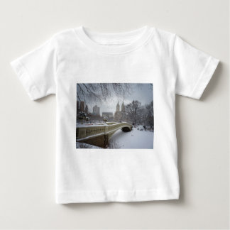 Winter - Central Park - New York City Baby T-Shirt