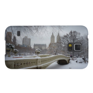 Winter - Central Park - New York City Galaxy S5 Cases