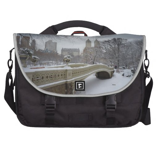 Winter - Central Park - New York City Computer Bag