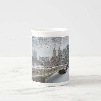Winter - Central Park - New York City Tea Cup