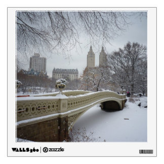 Winter - Central Park - New York City Wall Decal