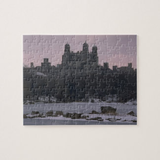 Winter Central Park NYC Jigsaw Puzzle
