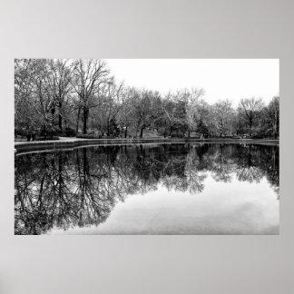 Winter Central Park NYC Landscape Print