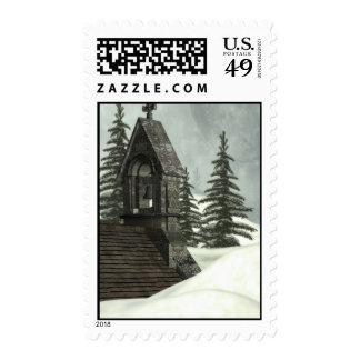 Winter Chapel Stamp