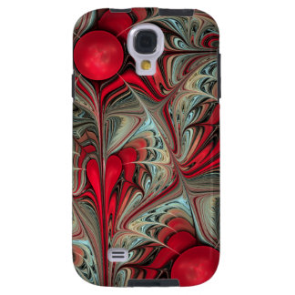 Winter Cheer, Artistic Abstract Galaxy S4 Case