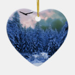 Winter Chill Christmas Ornaments