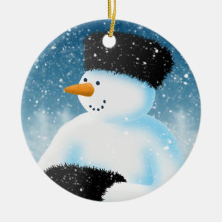 Winter Chill Christmas Tree Ornaments