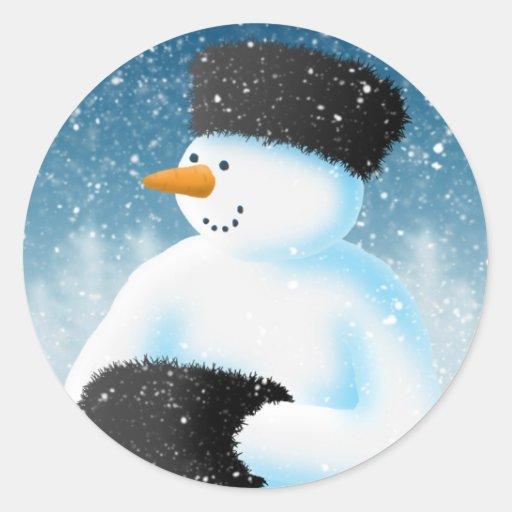 Winter Chill Sticker