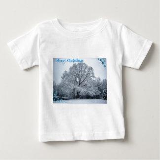 Winter Christmas Baby T-Shirt