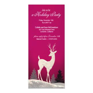 Winter Christmas Holiday Party Invitation