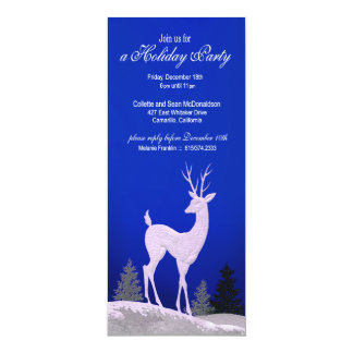 Winter Christmas Holiday Party Invitation