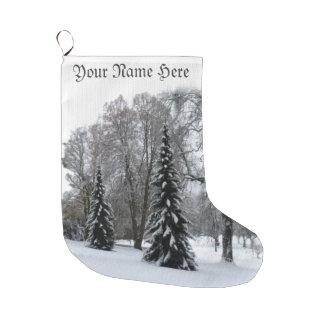 Winter Christmas Stockings Personalized Stockings