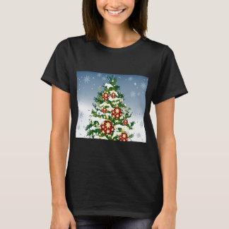 Winter Christmas Tress Womens T-Shirt