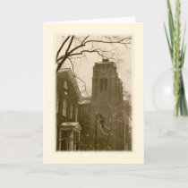 'Winter Church (NYC)' Holiday Card - Christmas