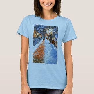 Winter City Scape T-Shirt