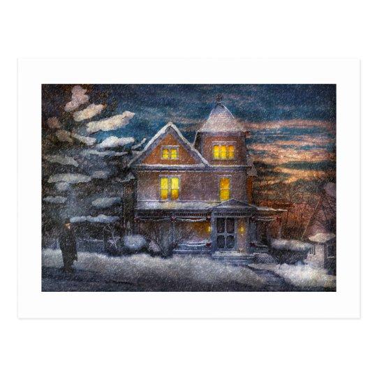 Winter - Clinton, NJ - A Victorian Christmas Postcard