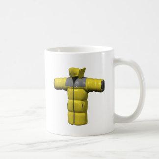Winter Coat Yellow Classic White Coffee Mug