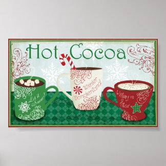 Winter Cocoa Poster