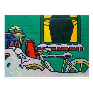 Winter Color by Piliero Postcard