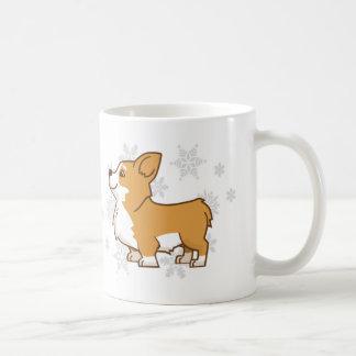 Winter Corgi Mug