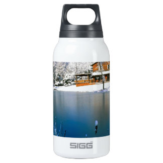 Winter Country Retreat Thermos Bottle