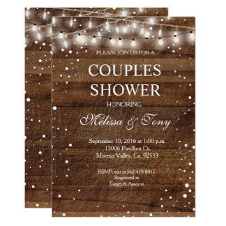 Winter Couple Shower Invitation