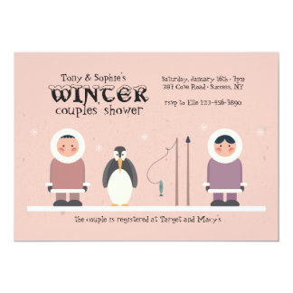 Winter Couples' Shower Invitation
