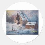 Winter Cover Stickers