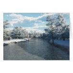 Winter Creek (Blank) Card
