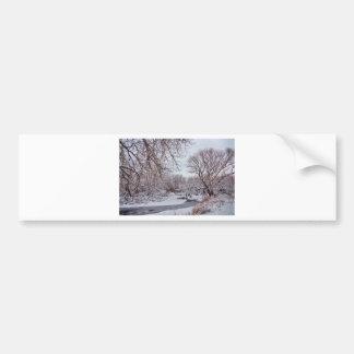 Winter Creek Bumper Sticker