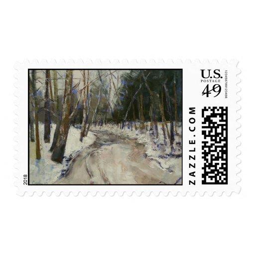 Winter Creek Stamp