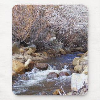 Winter Creek Vertical Mouse Pad