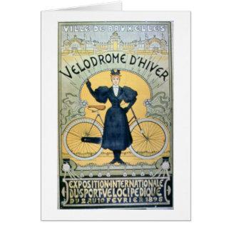 'Winter Cycle Racing Track', International Exhibit Card